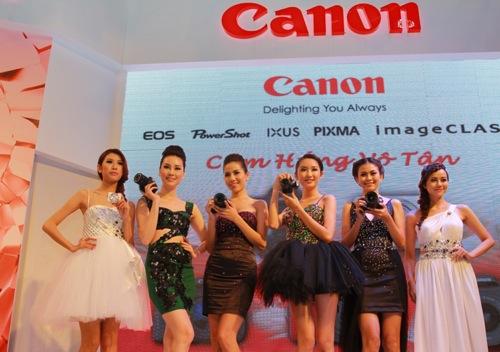 Các sản phẩm mới của Canon năm 2013