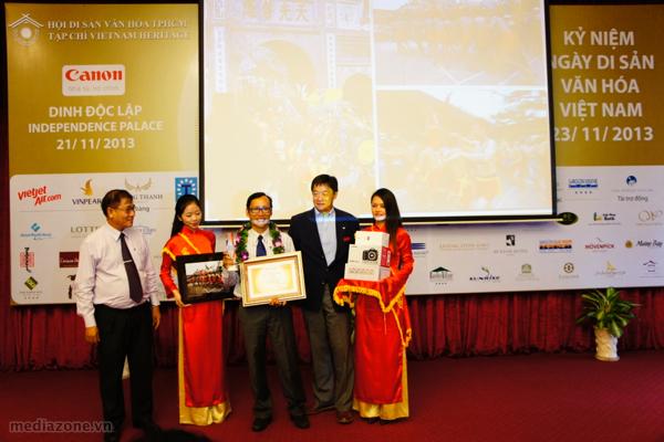 Trao giải cuộc thi ảnh Vietnam Heritage