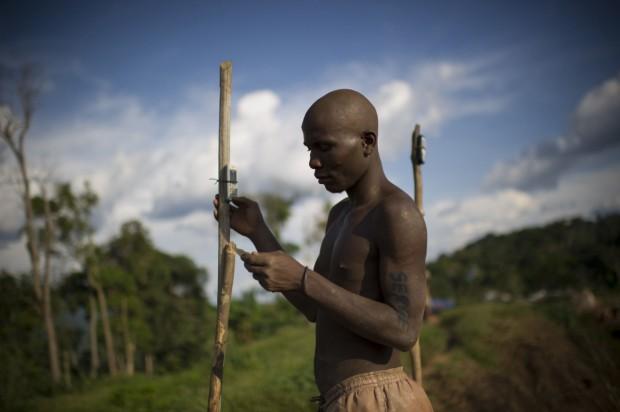 Congo cell phone