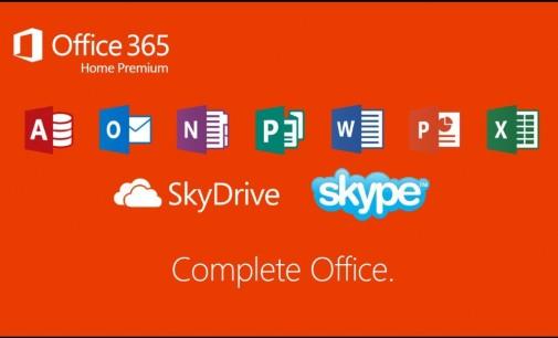 Sử dụng bộ công cụ Microsoft Office 365