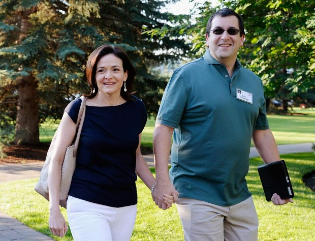 david goldberg-sheryl sandberg