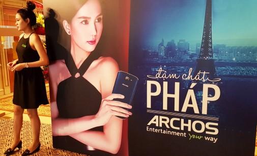 Hãng Pháp Archos ra mắt smartphone mới ở Việt Nam