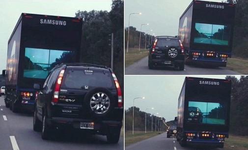 VIDEO: Ý tưởng xe tải an toàn của Samsung