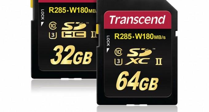 Thẻ nhớ tốc độ cao Transcend SDHC SDXC UHS-II Class 3