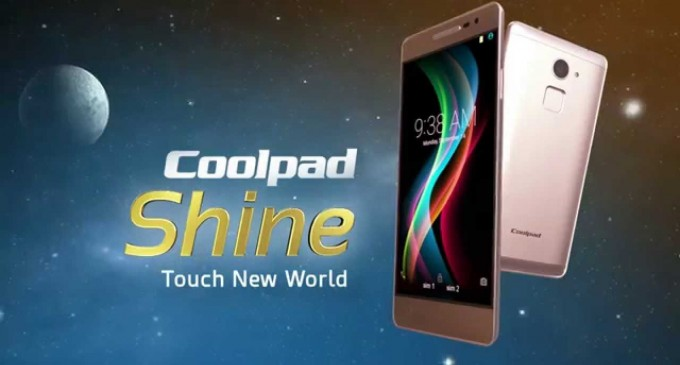 Smartphone Coolpad Shine chính thức ra mắt tại Việt Nam