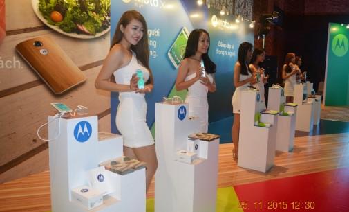 VIDEO: Sự kiện ra mắt 5 mẫu smartphone mới của Motorola ở Việt Nam