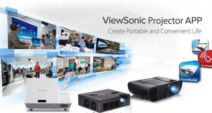 ViewSonic phát hành bộ ba ứng dụng hỗ trợ máy chiếu