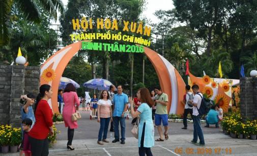 Hội Hoa Xuân Tao Đàn Tết Bính Thân 2016