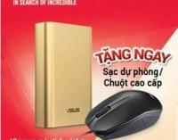 Asus tặng quà cho người mua máy tính xách tay chính hãng