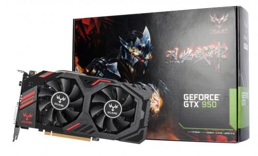 Colorful ra mắt dòng card đồ họa GeForce GTX 950