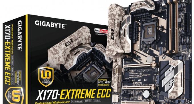 Gigabyte tích hợp kết nối Thunderbolt 3 lên bo mạch chủ chipset Intel C236