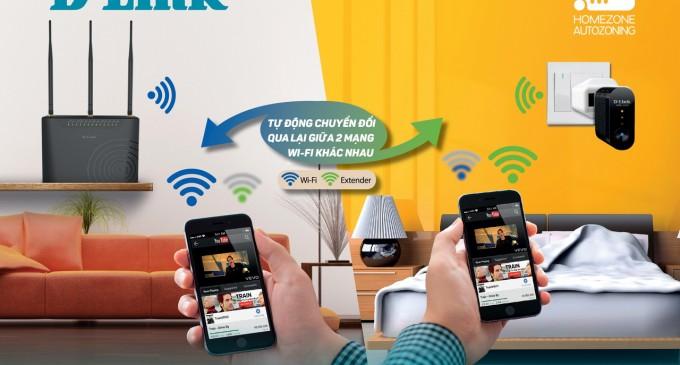 D-Link khuyến mãi tặng thiết bị mở rộng sóng Wi-Fi