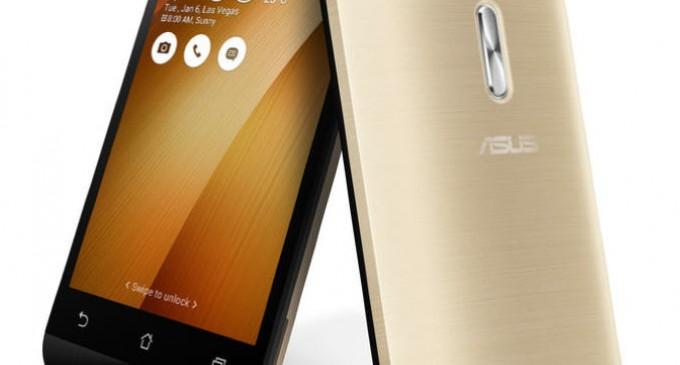 Asus ZenFone Go có phiên bản 4.5 inch mới hướng tới giới trẻ