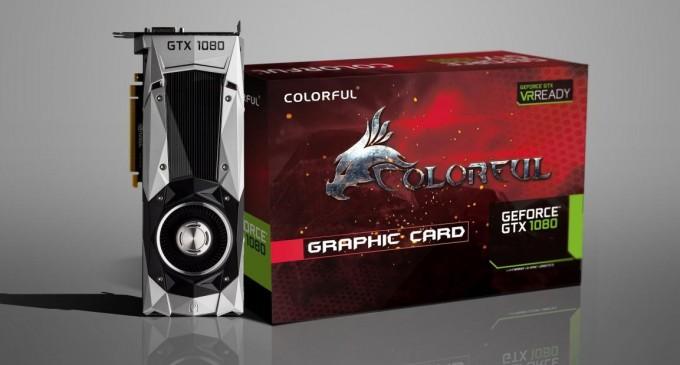 Card đồ họa GeForce GTX 1080 của Colorful