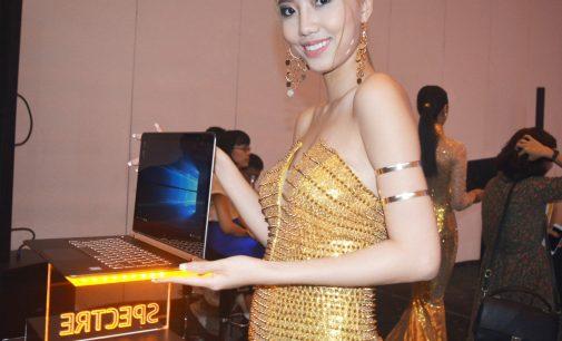 HP ra mắt máy tính xách tay Spectre mỏng nhất thế giới ở Việt Nam