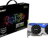 "Palit GeForce GTX 1080 GameRock, card đồ họa GTX 1080 ""khủng long"""