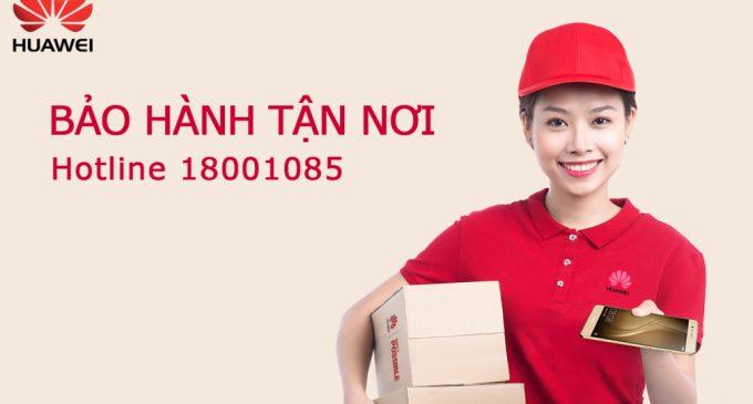Huawei Việt Nam bảo hành smartphone tận nhà