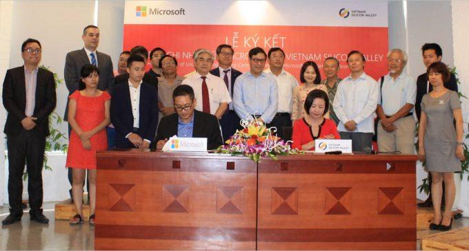 Vietnam Silicon Valley và Microsoft Việt Nam hợp tác hỗ trợ cộng đồng khởi nghiệp