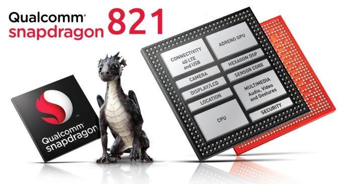 """CPU Qualcomm Snapdragon 821 đã sẵn sàng """"chinh chiến"""""""