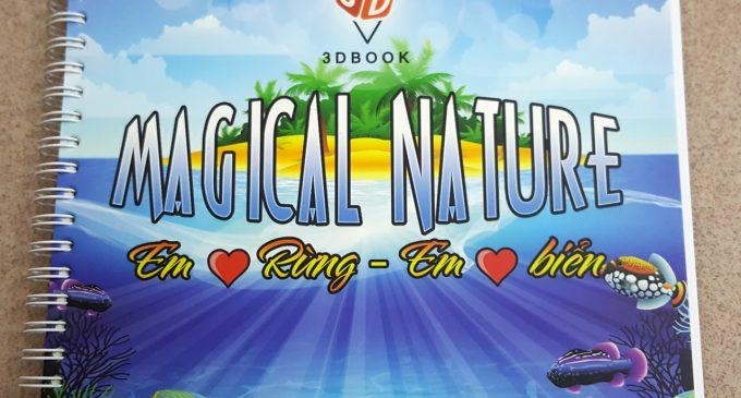 Magical Nature: một cuốn sách thực tế ảo VR của người Việt