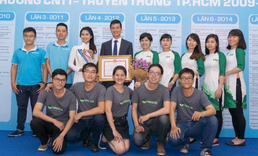 Dịch vụ VietnamCDN nhận giải thưởng Công nghệ thông tin – Truyền thông TP.HCM 2016