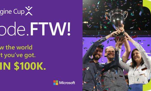 Cuộc thi Microsoft Imagine Cup 2017 ưu tiên phát triển ứng dụng đám mây