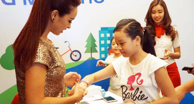 MobiFone ra mắt đồng hồ thông minh cho trẻ em Tio