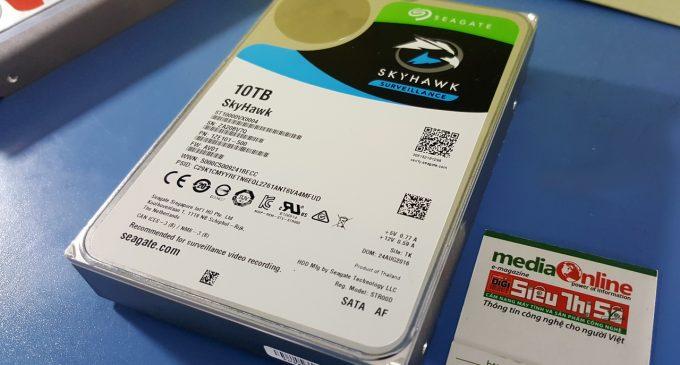 Seagate SkyHawk 10TB: ổ HDD chuyên dùng cho camera giám sát