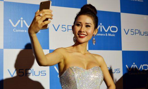 Vivo V5Plus – smartphone chụp selfie bằng camera kép 20MP+8MP có mặt ở Việt Nam