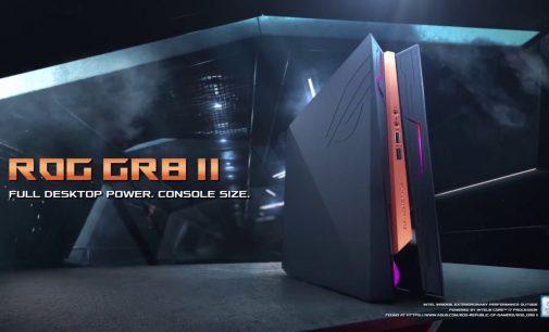 """Asus ROG giới thiệu máy tính tí hon chơi game """"khủng"""" Mini PC GR8 II"""