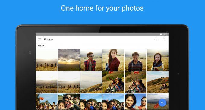 Google Photos giúp lưu trữ hình ảnh, video