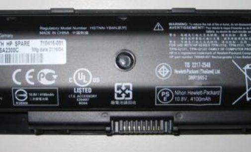HP cho thu hồi thêm 100.000 cục pin laptop ở Bắc Mỹ
