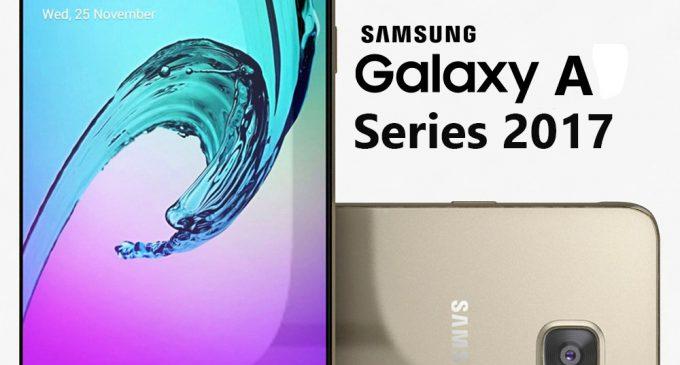 Samsung đã có dòng smartphone Galaxy A (2017) Series