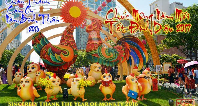 Chúc mừng Năm mới Đinh Dậu 2017