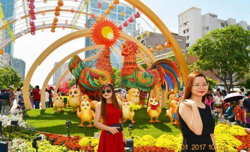 VIDEO: Đường Hoa Nguyễn Huệ Saigon Tết Đinh Dậu 2017 (1/4)