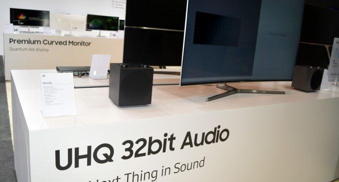 Âm thanh UHQ 32-bit của Samsung