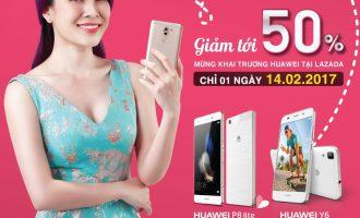 Huawei khai trương gian hàng bán lẻ trên Lazada