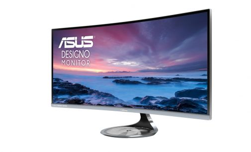 Asus giới thiệu màn hình cong 34 inch 4K Designo Curve MX34VQ