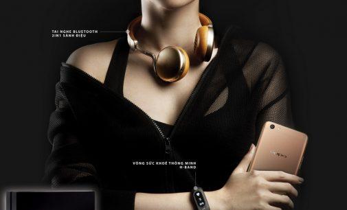 Oppo tặng quà trị giá hơn 2,1 triệu đồng cho khách hàng đặt mua smartphone F3 Plus