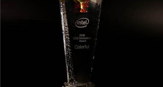 Intel trao tặng Giải thưởng sáng tạo cho Colorful