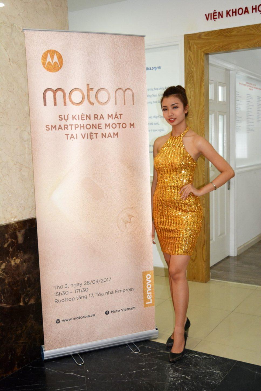 Lenovo ra mắt smartphone Moto M tại Việt Nam