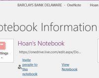 Cách backup và restore OneNote