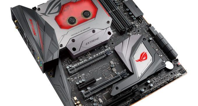 Asus ROG ra mắt bo mạch chủ Maximus IX Extreme cho CPU Intel Core thế hệ 7