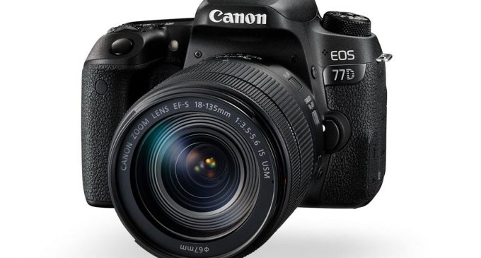 Máy ảnh Canon EOS 77D lấy nét tự động nhanh nhất thế giới