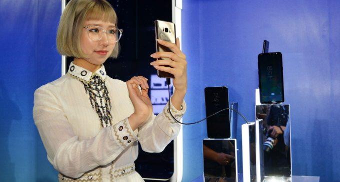 Bộ đôi smartphone Samsung Galaxy S8 và S8+ ra mắt người dùng Việt Nam