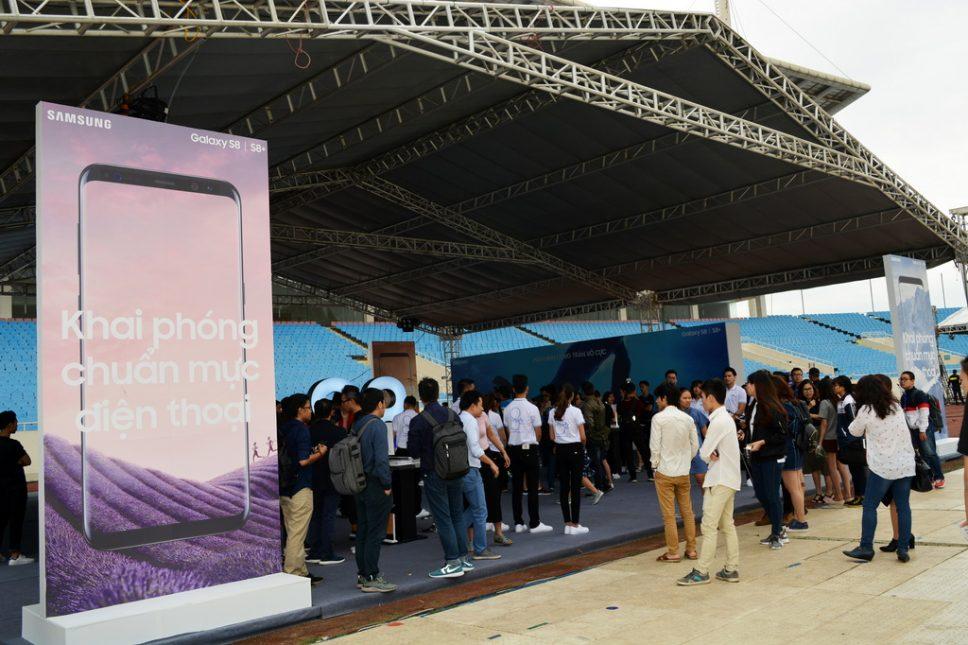 Đại tiệc Công nghệ và Âm nhạc Vô Cực cho Samsung Galaxy S8 tại Hà Nội