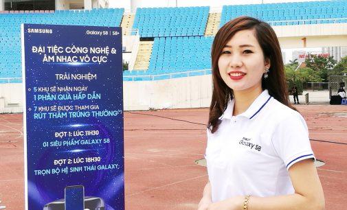 Samsung tổ chức Ngày hội S8 tại Hà Nội