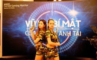 Samsung Vina ra mắt màn hình cong chơi game với công nghệ Quantum Dot Display