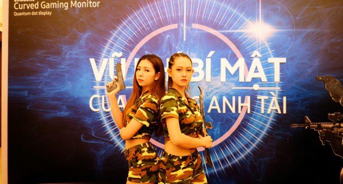 Samsung đưa vào Việt Nam màn hình cong chơi game với công nghệ Quantum Dot Display