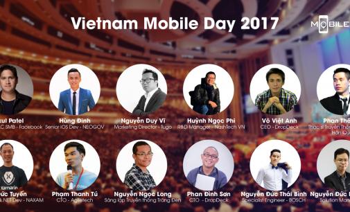 Chia sẻ những chiêu thức làm Mobile ở Việt Nam tại Vietnam Mobile Day 2017